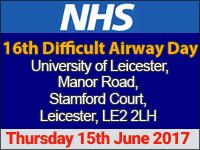 NHS 16th Difficult Airway Day